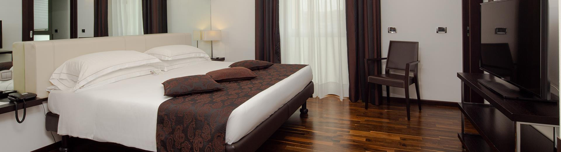 Discover all the comfort of the Best Western Hotel Biri Suites, 4 stars in Padua!