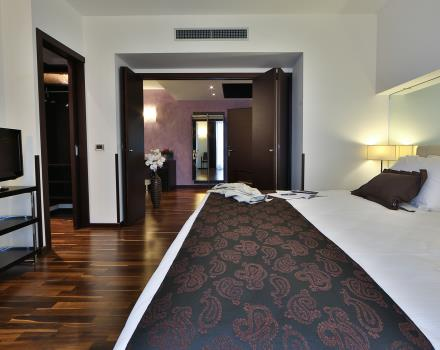 Enjoy all the pleasure of a stay in 4 star hotel in the centre of Padua: choose a Suite at the Best Western Hotel Biri!