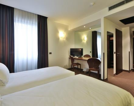 Choose the comfort of our double rooms: book Best Western Hotel Biri, 4 star in Padua!