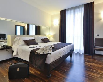 An unforgettable stay in an elegant Superior Room with view of the city at the Best Western Hotel Biri in Padova.