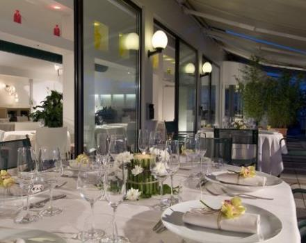 Try the rooftop restaurant Le Terrazze at Best Western Hotel Biri, 4-star in Padua