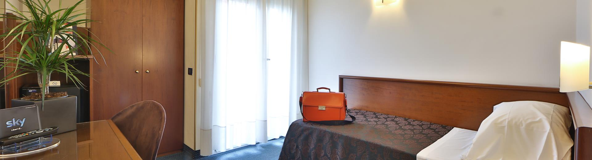 Choose the comfort of the rooms of Best Western Hotel Biri, Padova 4 star!