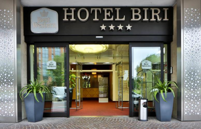 How to reach Best Western Hotel Biri in Padua